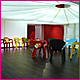 Girlguiding UK London -  Design of the ICANDO Centre for girls - Funky lighting, exhibition & graphic design
