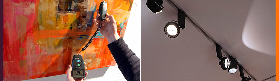 museum gallery lighting for textile exhibition british lighting designers